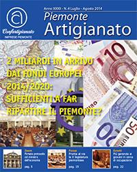 Piemonte artigianato n 4 luglio agosto 2014 for Ccnl legno e arredamento artigianato